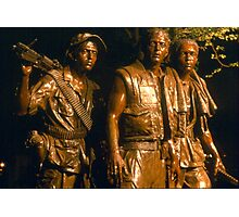 Vietnam Memorial Photographic Print