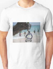 goggles on beach T-Shirt