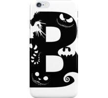 B is for Burton iPhone Case/Skin