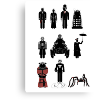 Doctor Who, 12th Doctor - season 8 Canvas Print