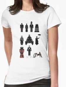Doctor Who, 12th Doctor - season 8 Womens Fitted T-Shirt