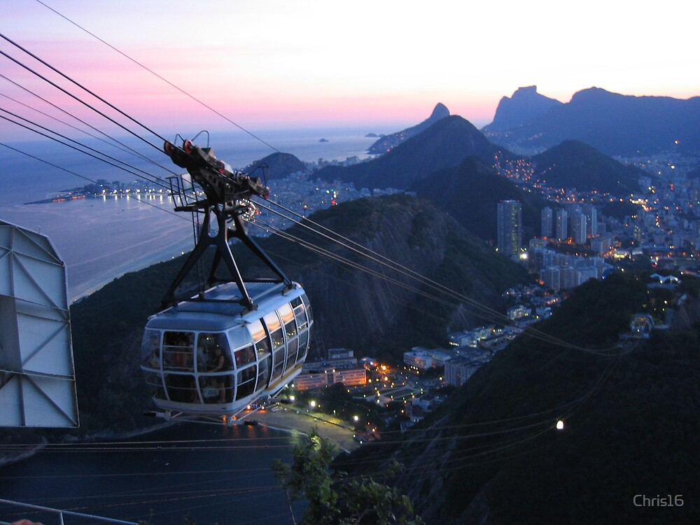 Rio de Janerio, Brazil by Chris16
