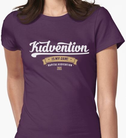 Kapital Kidvention is My Jam! Womens Fitted T-Shirt