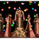 NATIVITY SCENE WITH BOKEH by Diane Peresie