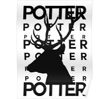 James Potter Animagus Poster