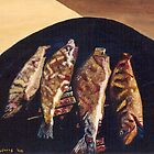 Fish BBQ by C J Lewis