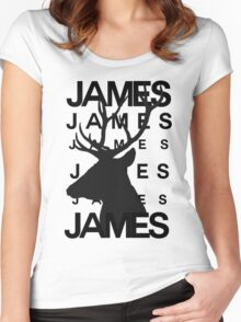 James Potter Animagus [#2] Women's Fitted Scoop T-Shirt