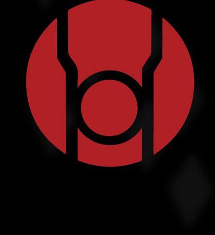 Red Lantern Poster v.2 Sticker