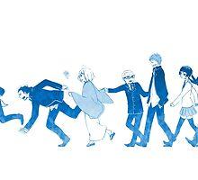 Anime: AO NO EXORCIST by shuuheii