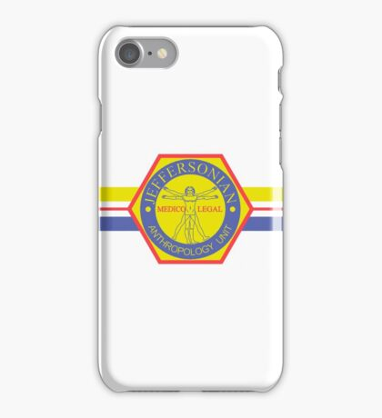 BONES Jeffersonian Institute iPhone Case/Skin