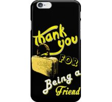 Thank you iPhone Case/Skin
