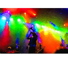 Rainbow Music - Trombone Solo in the Limelight Photographic Print