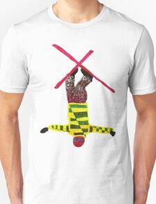 Freestyle skier Unisex T-Shirt