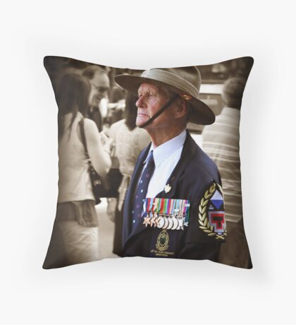Age shall not weary them. Throw Pillow