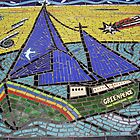 Rainbow Warrior Mural Auckland by Keith Russell