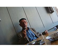 candid lunch Photographic Print