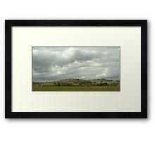Yarra Glen Autumn Framed Print