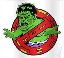 Hulkbuster (Outline/Shading) Poster