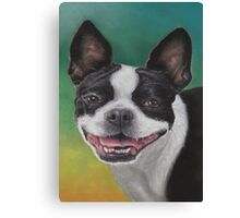 """Lady"" with a Big Smile Canvas Print"