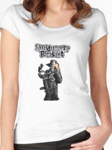Skulduggery Pleasant Women's Fitted Scoop T-Shirt