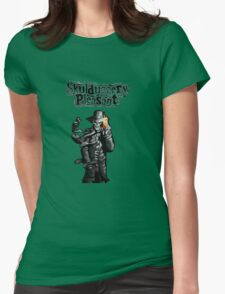 Skulduggery Pleasant Womens Fitted T-Shirt