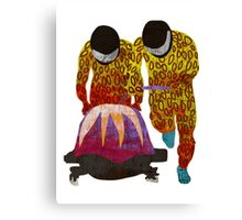 Bobsled Canvas Print