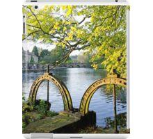 Bakewell Weir Sluice Gates iPad Case/Skin