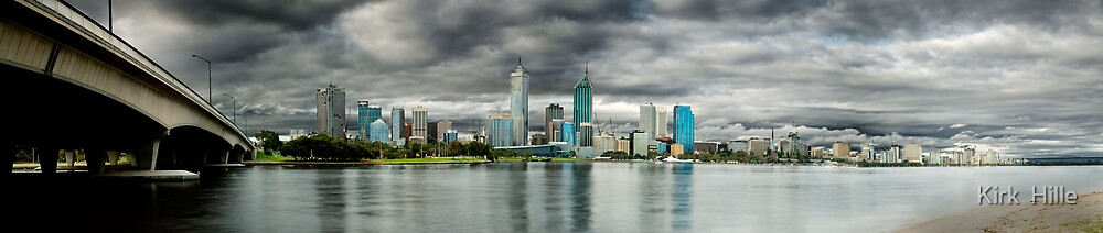 Overcast Perth by Kirk  Hille