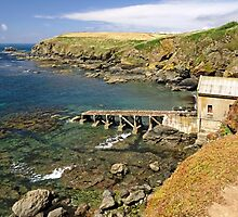 The Old Lizard Lifeboat Station by Rod Johnson
