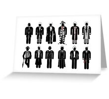 Doctor Who - Timelord Recognition guide - laptop Greeting Card