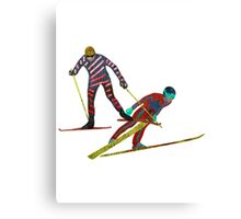 Nordic Combined Canvas Print