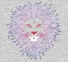 Lion face 3 One Piece - Long Sleeve
