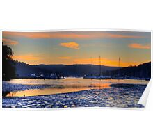 The Shallows - Pittwater - Sydney Beaches - The HDR Series, Sydney Australia Poster
