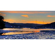The Shallows - Pittwater - Sydney Beaches - The HDR Series, Sydney Australia Photographic Print