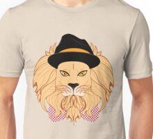 Lion Hipster Unisex T-Shirt