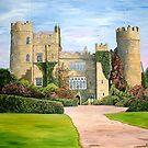 Malahide Castle, Co. Dublin by Margaret Zita Coughlan