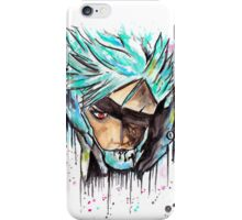 Metal Gear Solid Rising - RAIDEN - Grafitti art - T shirts + More iPhone Case/Skin
