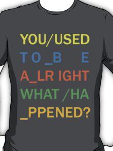 RADIOHEAD - IN RAINBOWS T-Shirt