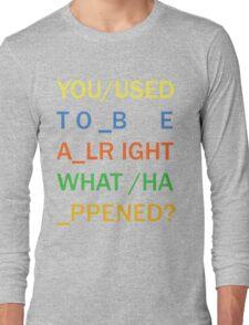 RADIOHEAD - IN RAINBOWS Long Sleeve T-Shirt
