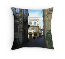 Italian Alleyways Throw Pillow