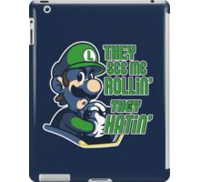Luigi MK8 - Ridin' Dirty iPad Case/Skin