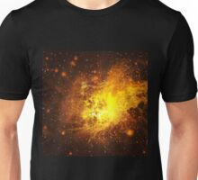 Exploding of Star in Space Unisex T-Shirt