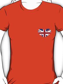 Union Jack Heart T-Shirt