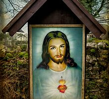 Sacred Heart Of Jesus by Adrian Evans
