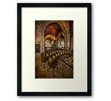 Cathedral Christmas Framed Print