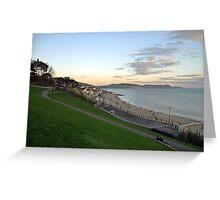 Lyme Regis 2014-12-30-Dorset UK Greeting Card