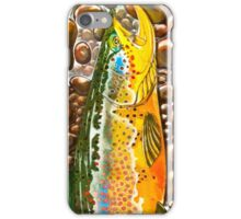 Pumpkin Seed - Trout Painting iPhone Case/Skin
