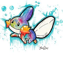 Cute Mudkip Watercolor Tshirts + More! ' Pokemon ' by Jonny2may