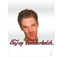 Enjoy Cumberbatch Poster