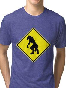 Werewolf Crossing Tri-blend T-Shirt